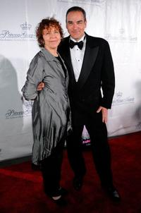 Kathryn Grody and Mandy Patinkin at the 2009 Princess Grace Awards Gala.