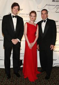 Adam Rapp, Gillian Murphy and Mandy Patinkin at the 2009 Princess Grace Awards Gala.