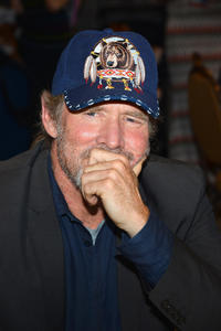 Will Patton at the press line of