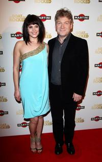 Gemma Arterton and director Kenneth Branagh at the premiere party of