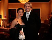 Nia Peeples and writer Sam George at the Children Uniting Nations' 9th annual awards celebration and viewing dinner.