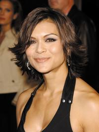 Nia Peeples at the Los Angeles premiere of