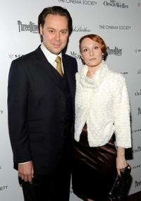 Christian McKay and Emily Allen at the screening of