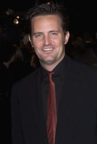 Matthew Perry at the 2000 GQ Men of The Year Awards.