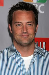Matthew Perry at the NBC All-Star Event.