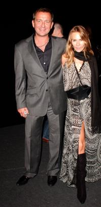 Sean Pertwee and his wife Jacqui Hamilton-Smith at the after show party following the world premiere of
