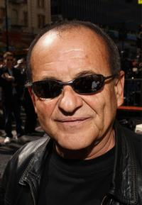 Joe Pesci at the ceremony honoring Scorsese with a star on the Hollywood Walk of Fame.