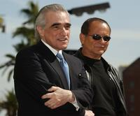 Joe Pesci and Director Martin Scorsese at the ceremony honoring Scorsese with a star on the Hollywood Walk of Fame.