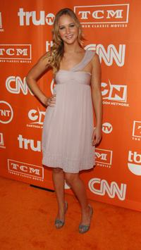 Jennifer Lawrence at the 2008 Summer TCA Tour Turner party.