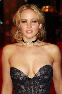 Jennifer Lawrence at the Orange British Academy Film Awards 2011 in England.