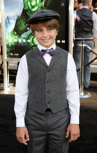 Gattlin Griffith at the California premiere of
