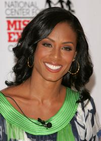 Jada Pinkett Smith at the Preschool of America to read to children and unveil a new book with child safety tools for parents.
