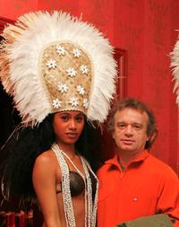 Dominique Pinon and Guest at the