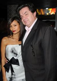 Thandie Newton and Oliver Platt at the after party of the California premiere of