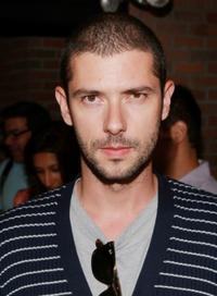 Melvil Poupaud at the after party of the premiere of