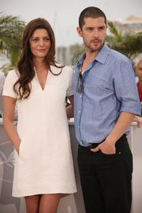 Chiara Mastroianni and Melvil Poupaud at the photocall of