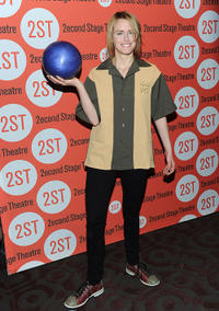 Taylor Schilling at the 23rd Annual Second Stage Theatre All-Star Bowling Classic in New York.