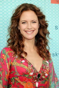 Kelly Preston at the opening of the new boutique Skyla.