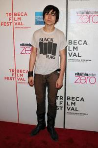 Ezra Miller at the premiere of