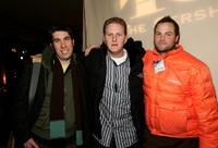 Michael Rappaport, Hal Haberman and Jeremy Passmore at the Sundance Film Festival for Gersh Agency Party.