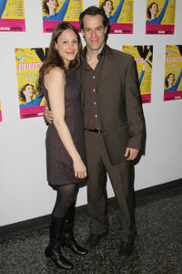 Natalie Gold and Josh Stamberg at the off-Broadway opening night of the