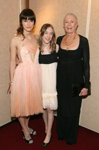 Keira Knightley, Saoirse Ronan and Vanessa Redgrave at the premiere of