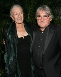 Vanessa Redgrave and Lajos Koltai at the after-party for the premiere of