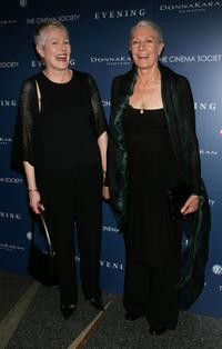 Lynn Redgrave and Vanessa Redgrave at the premiere of