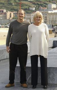 Director Carlo Gabriel Nero and Vanessa Redgrave at the 52nd San Sebastian International Film Festival.