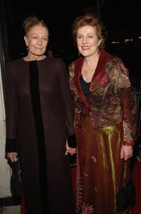 Vanessa Redgrave and Lynn Redgrave at the premiere of