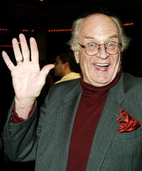 Charles Nelson Reilly at the first night performance of