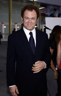 """John C. Reilly at the premiere of """"Criminal"""" in Hollywood."""
