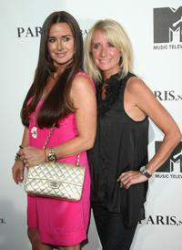Kyle Richards and Kim Richards at the MTV screening of