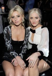 Alyson Michalka and AJ Michalka at the after party of 2011 People's Choice Awards in California.