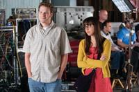 Seth Rogen as Ira and Aubrey Plaza as Daisy in