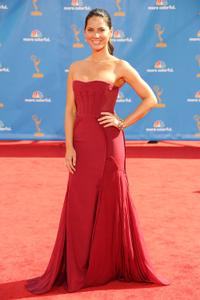 Olivia Munn at the 62nd Annual Primetime Emmy Awards.