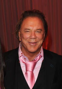 Mickey Rourke at the world premiere of