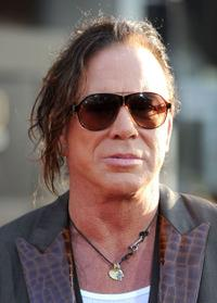 Mickey Rourke at the California premiere of