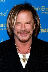 Mickey Rourke at the presentation of