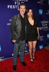Bill Sage and Guest at the premiere of
