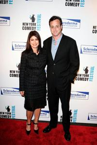 Bob Saget and Caroline Hirsch at the Kick-Off of the 2nd Annual New York Comedy Festival.