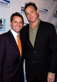 Bob Saget and Luke Evnin at the benefit for the Scleroderma Research Foundation.