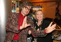 Eva Marie Saint and Wim Wenders at the premiere of