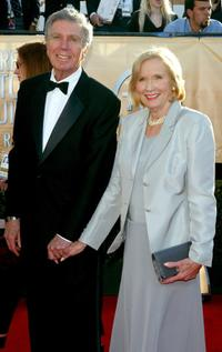 Eva Marie Saint and Jeffrey Hayden at the 11th Annual Screen Actors Guild Awards.
