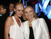 Eva Marie Saint and Kate Bosworth at the after party for the premiere of Warner Bros.