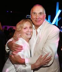 Eva Marie Saint and Frank Langella at the after party for the premiere of Warner Bros.