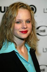 Thora Birch at the 6-year Anniversary party for Flaunt Magazine.