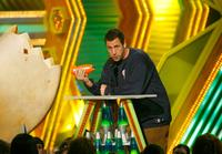 Adam Sandler at the 20th Annual Kid's Choice Awards.