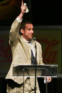 Adam Sandler at the 2007 ShoWest awards ceremony.