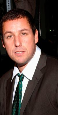 Adam Sandler at the Los Angeles premiere of